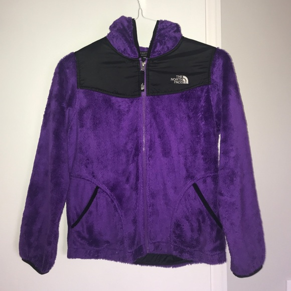 d678e8a08470 The North Face Girls Large Purple Fleece Jacket